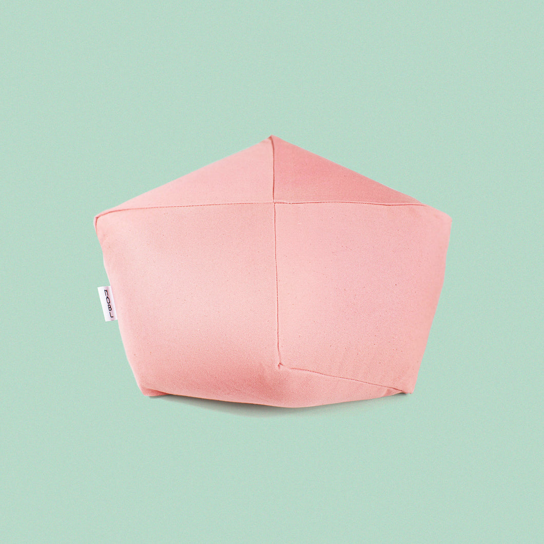Modern Pink Square Cushion