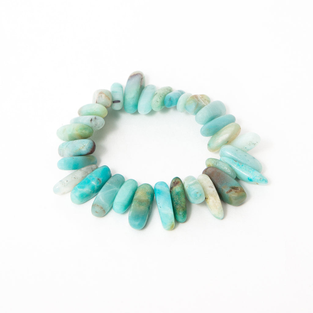 Green Amazonite Match Stick Single