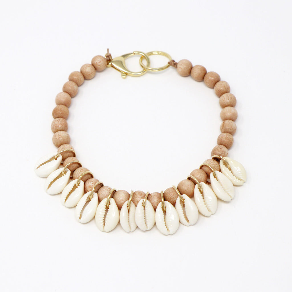 Out to Sea Cowrie Necklace