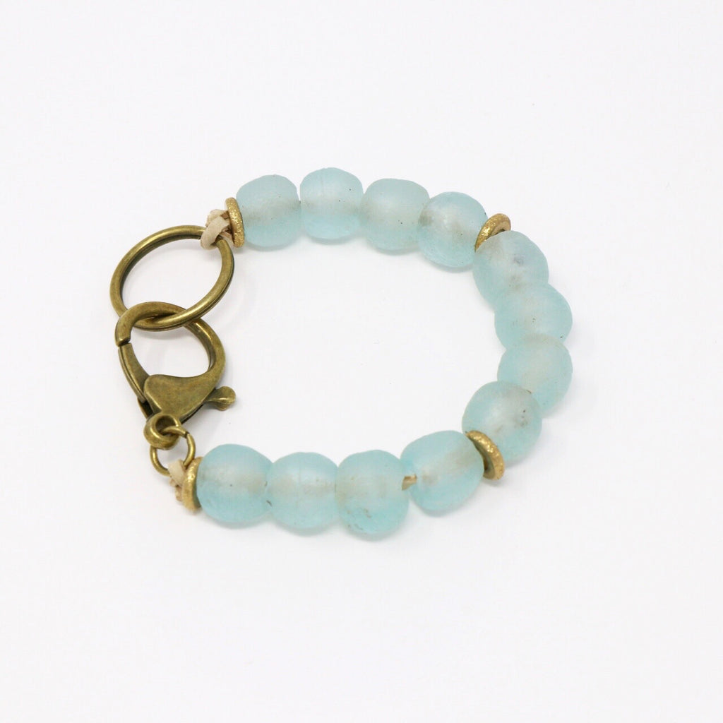 Light Turquoise Pebble Clasp
