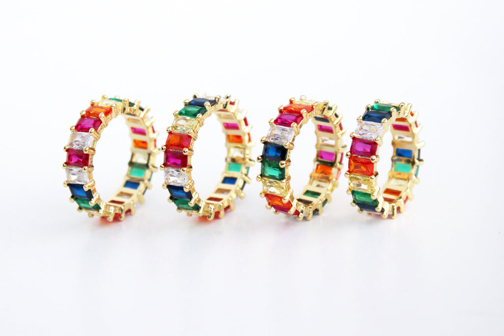 Chasing Rainbows Eternity Ring