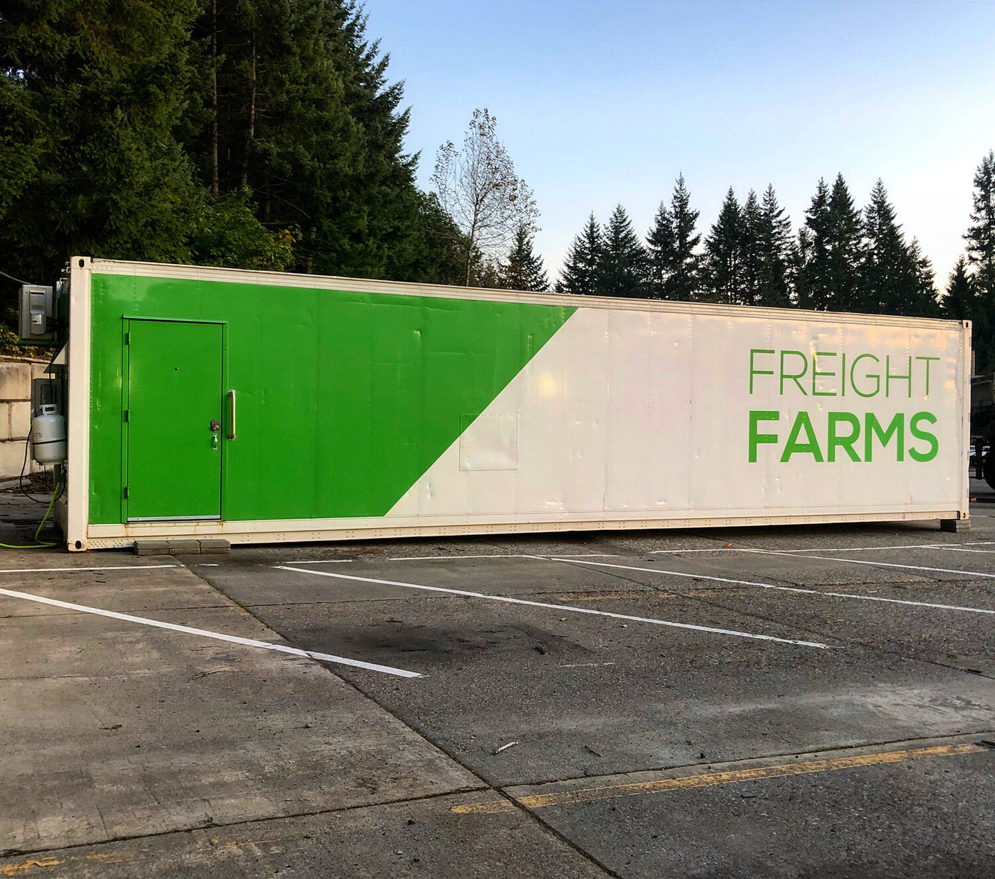 40 ft Turnkey Container Greenhouse