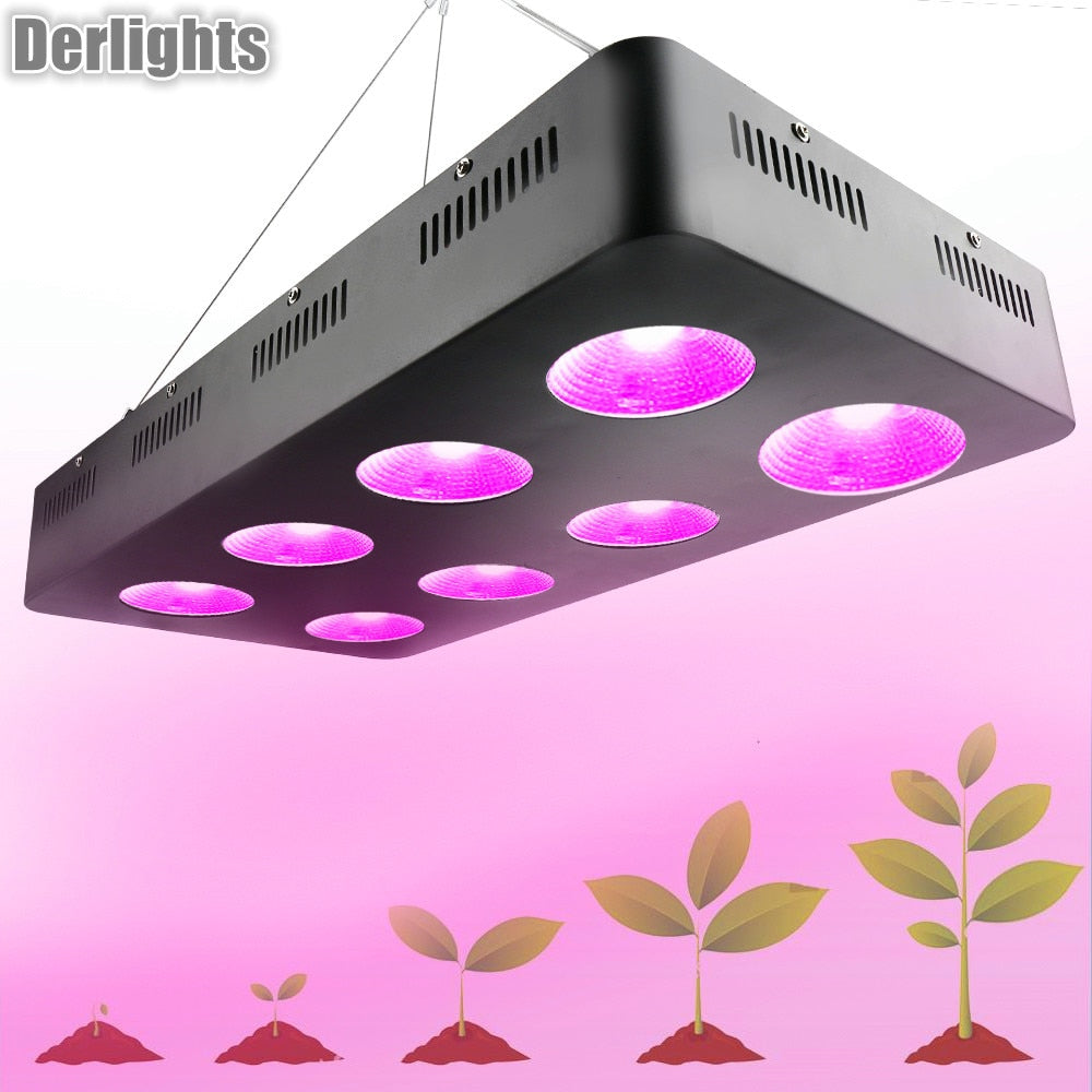 2000W 1500W 1000W 500W Full Spectrum COB Led Grow Light For Cultivation