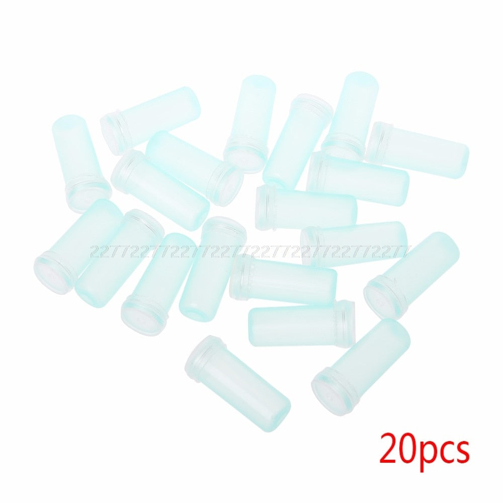 10/20pcs Flower Nutrition Tube Plastic With Cap Keep Fresh Hydroponic Container Floral Water Tube JUL11 dropshipping