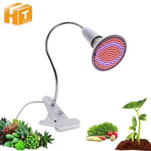 72 200 290 LEDs led grow light Hydroponic lighting with Clip plants Lamps for flower hydroponics system indoor garden greenhouse