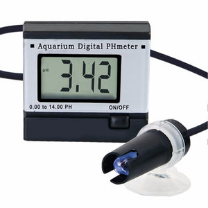 Mini Digital pH Meter Hydroponics Aquarium Swimming Pool  Spa 0.00~14.00pH Range