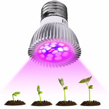 Load image into Gallery viewer, Full Spectrum cfl LED Grow Light Lampada E27 E14 MR16 GU10 Indoor Plant Lamp Flowering Hydroponics System IR UV Garden 110V 220V