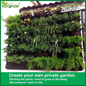 Durable Hanging  Bag Vertical Planter