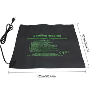 New Plant Heating Mat Seedling Flower Electric Blanket Waterproof Warm Durable Hydroponic Heating Pad 24*52CM 52*52CM 121*52CM