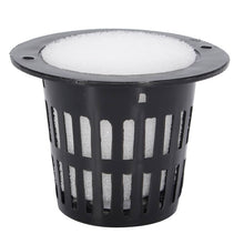 Load image into Gallery viewer, 10Pcs Mesh Pot Net Cup Basket Hydroponic System Garden Plant Grow Vegetable Cloning Foam Insert Seed Germinate Nursery Pots