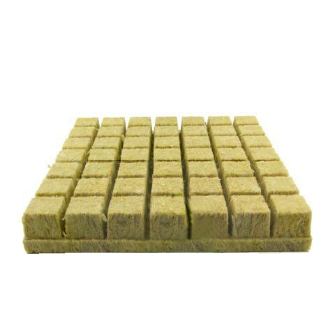 Grodan 36mm Starter Plugs Cubes Rockwool Hydroponic System to Grow Media Stonewool Propagation Cloning Rockwool Cubes Mini Block