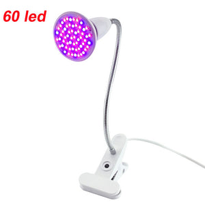 36 60 200 led grow light Hydroponic lighting Clip plants Lamps for flower hydroponics system indoor garden greenhouse seeding