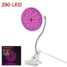 Load image into Gallery viewer, 36 60 200 led grow light Hydroponic lighting Clip plants Lamps for flower hydroponics system indoor garden greenhouse seeding