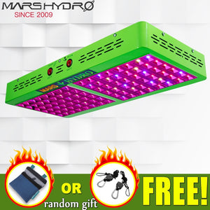 Mars Hydro Reflector 480W LED Grow Light Full Spectrum IR for Indoor Plants Greenhouse Hydroponic Indoor Seeding and Flowering