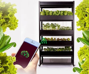 Smart APP remote controlled indoor planter