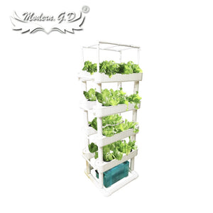 Hydroponic Growing Systems Home Vertical Garden Tower for vegetables planter