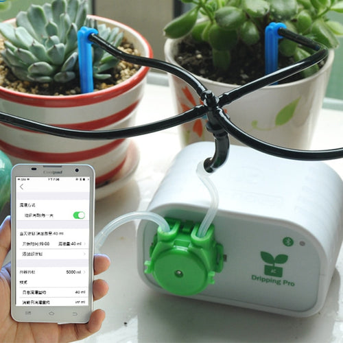 Drip Irrigation Automatic Mobile Phone Control  Pump watering Plant Watering Garden Water Timer Home Office water irrigation