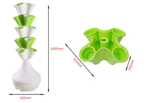 Vertical Tower Hydroponic planter System