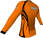DESERT - YOUTH / BOYS / MEN - Running LONG sleeve Shirt ORANGE***NEW PRODUCT