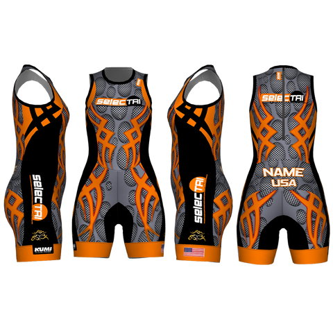 XAKUMI - YOUTH / GIRLS / WOMEN - Competition TRISUIT