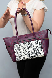 Mini Nyandia - purple Women's Purple handbag