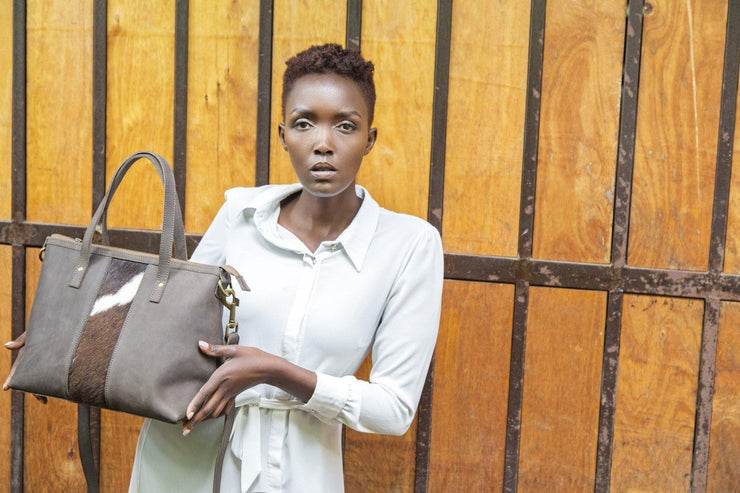 Amina Tote Leather Bag