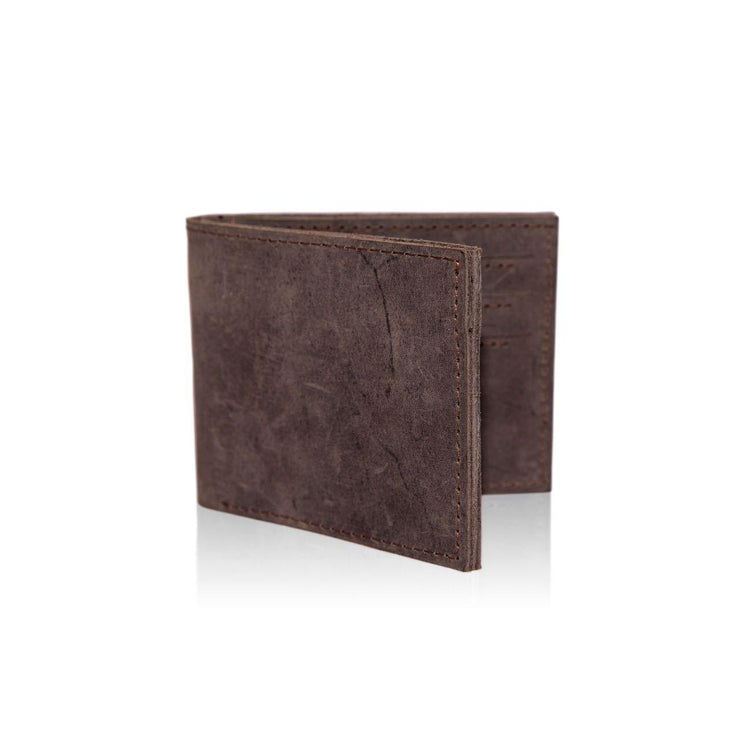 Mo Leather Wallet for Men Front View
