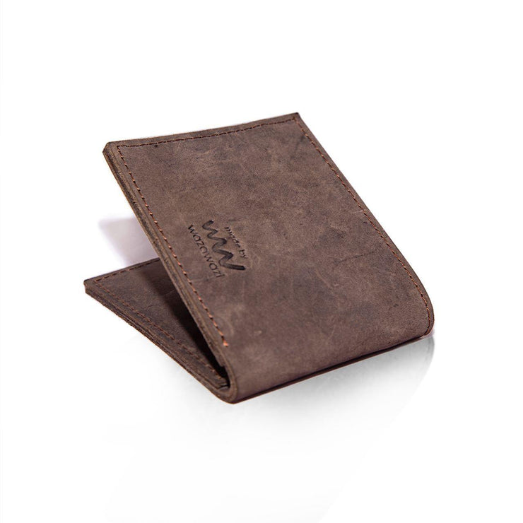 Mo Leather Wallet for Men Dark Brown
