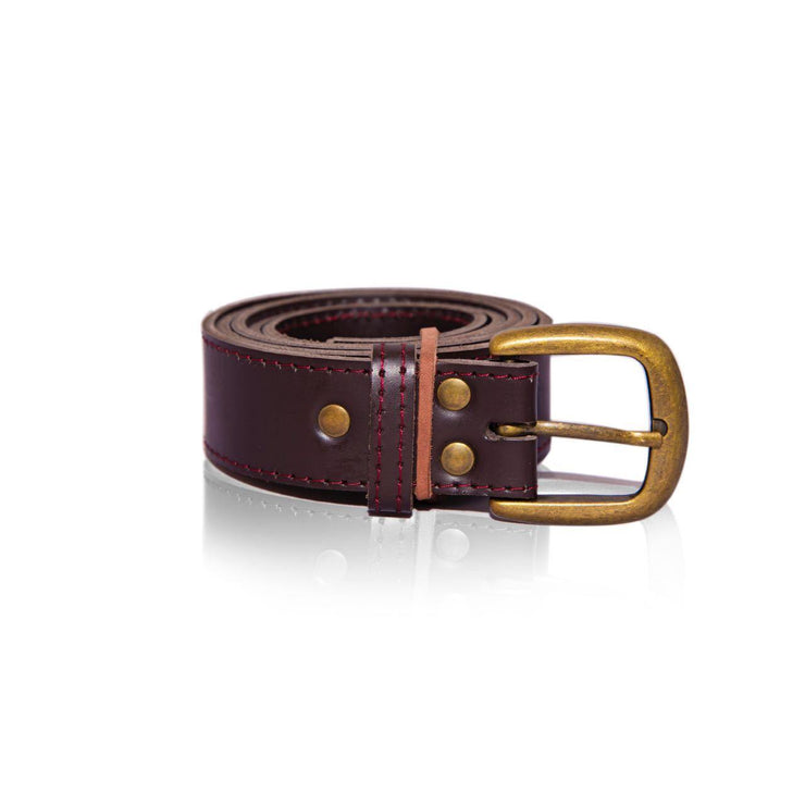 Musa Leather Belt - Wazawazi Leather