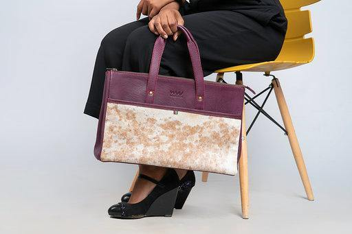 Somo ladies briefcase - purple