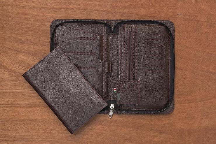 Uli Leather Travel Wallet