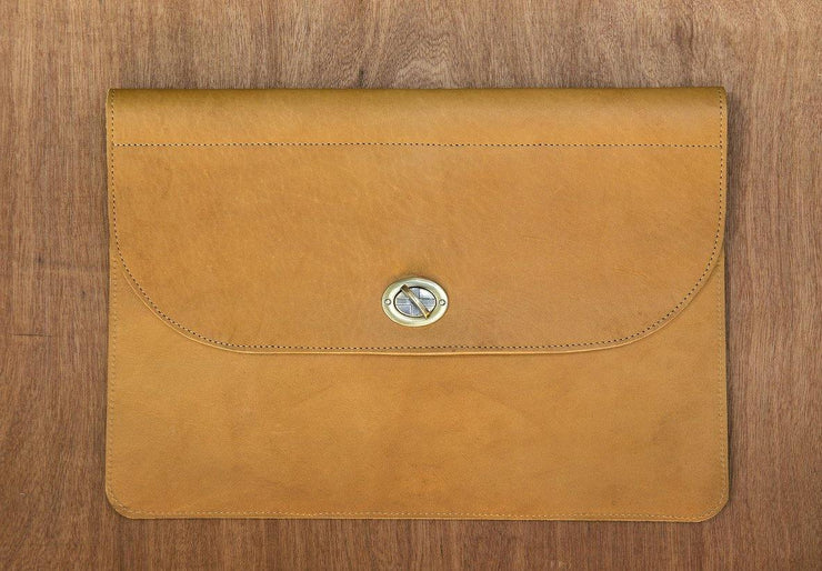 Inga Leather Laptop Case