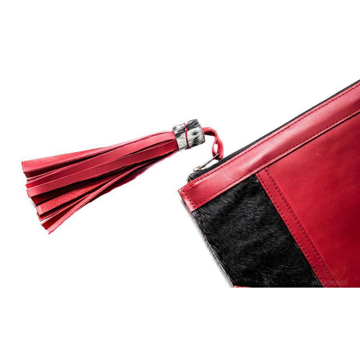 Wazawazi Luoch leather clutch bags