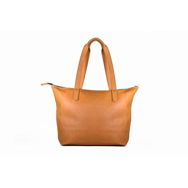 Amina Shopper Leather Tote Bag