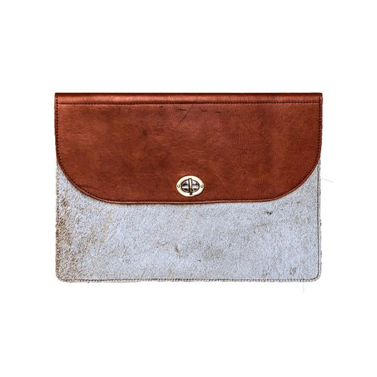 Wazawazi Inga Leather Laptop Case