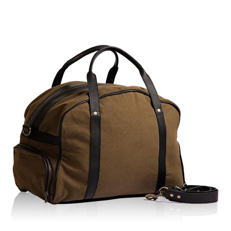 Wazawazi Luoch Leather Gym Bag