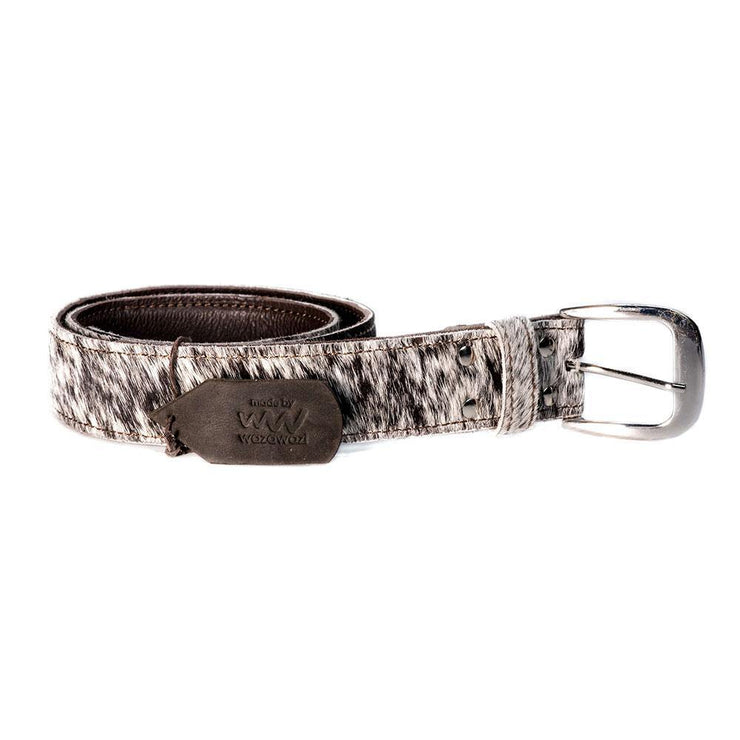 Wazawazi Mo leather belt - Hairon
