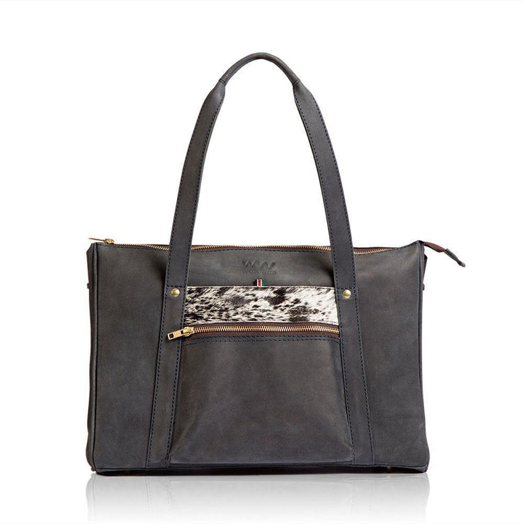 Makosewe Leather Handbag - Black