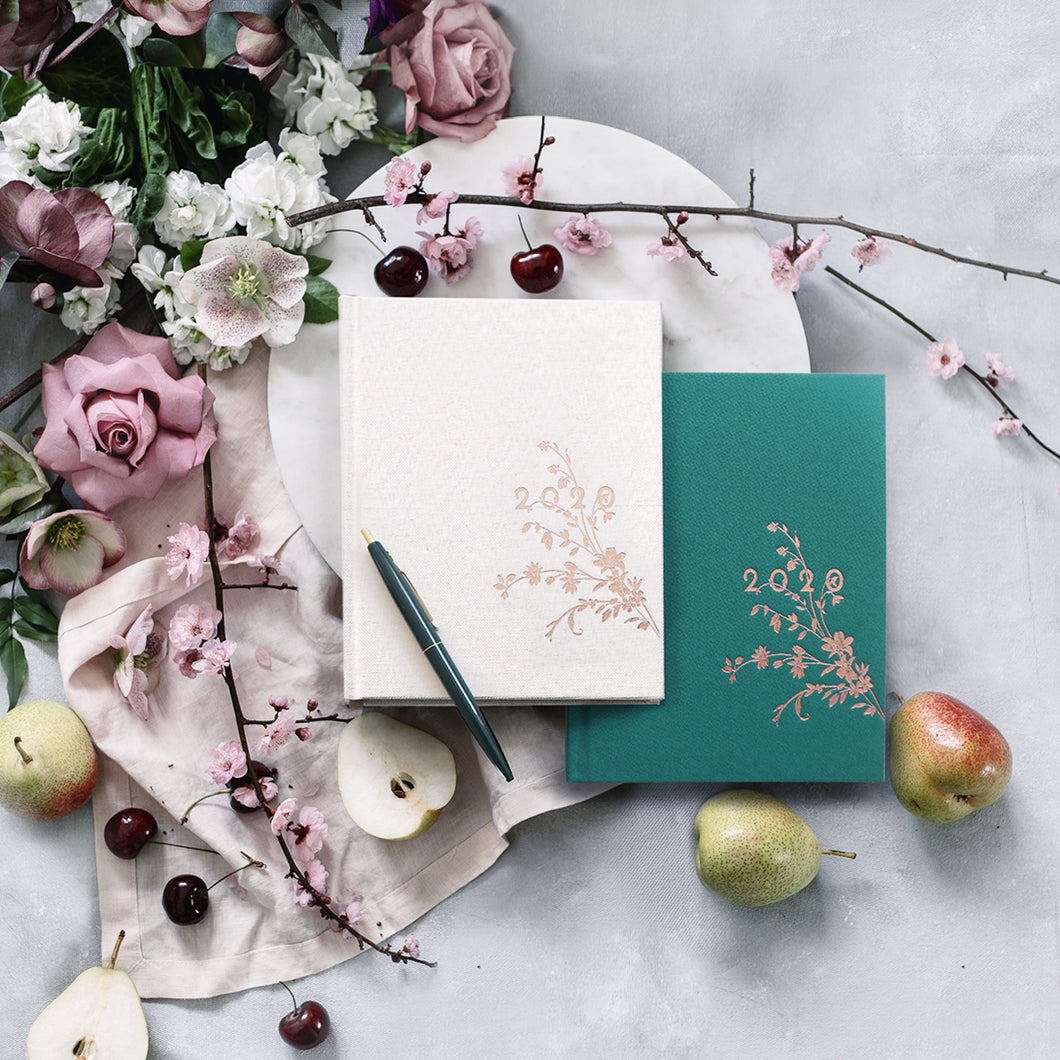 2020 PLANNERS- EMERALD ALWAYS FLOWERS