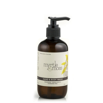 Myrtle & Moss - Hand & Body Wash - Mandarin, Lemon Myrtle & Orange Peel