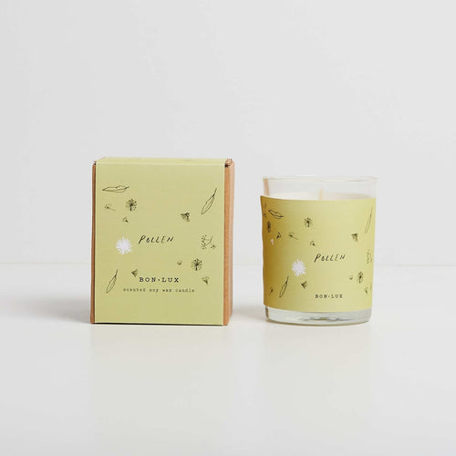 POLLEN boxed candle