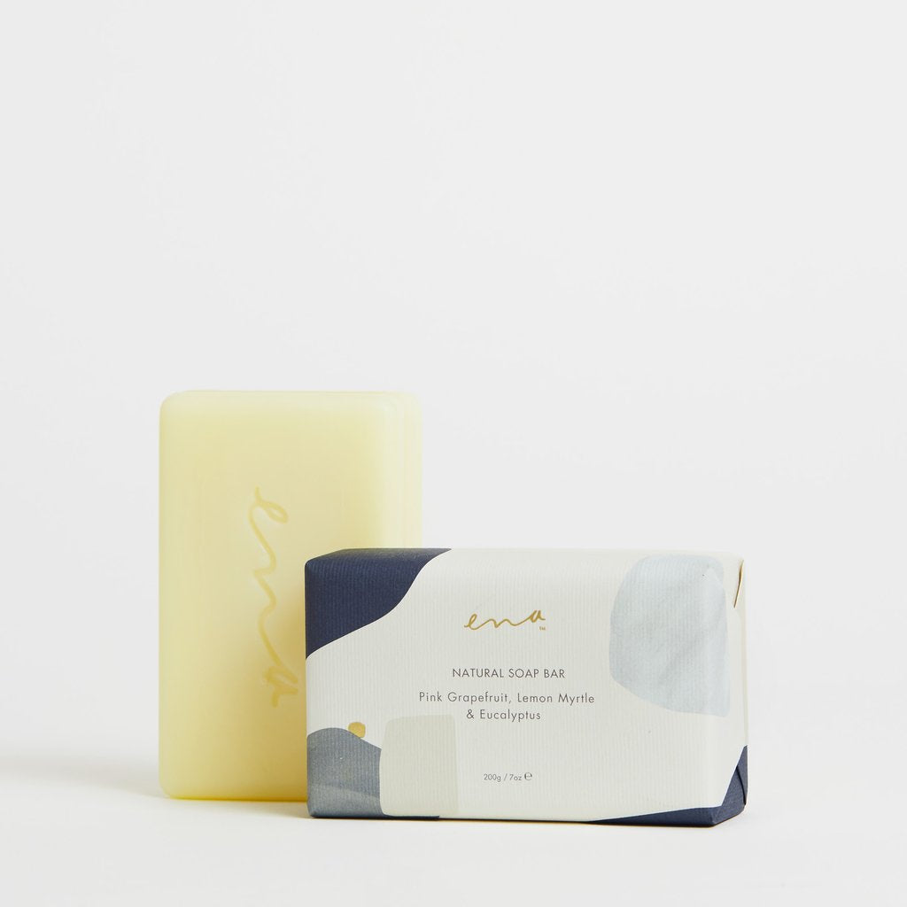 Soap Bar - Pink Grapefruit, Lemon Myrtle & Eucalyptus 200gm