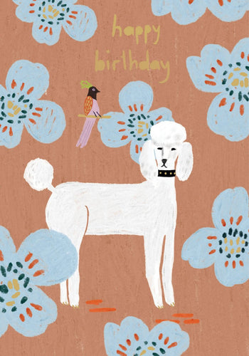 Happy Birthday (Poodle)