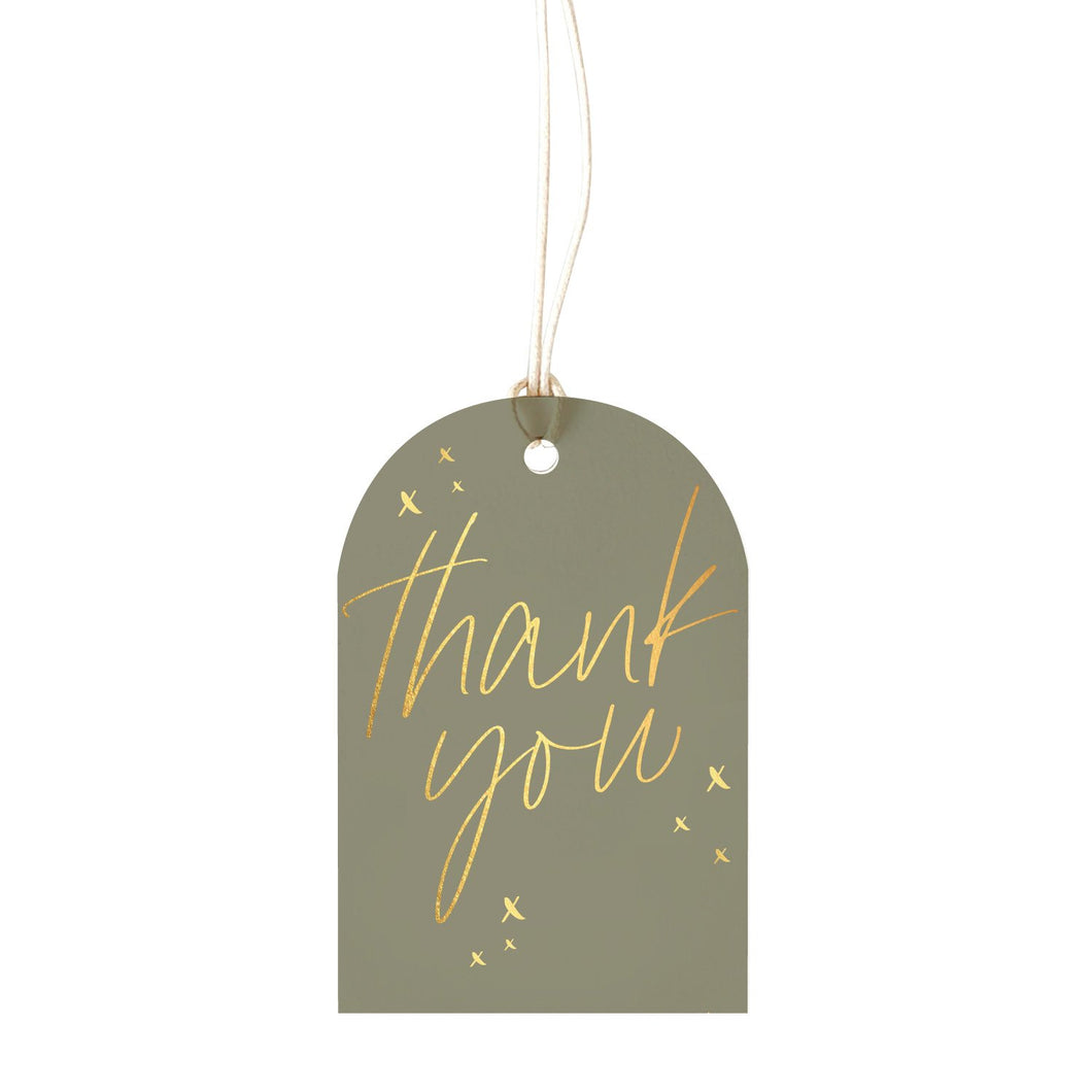 Sage Thank you - Gift Tag