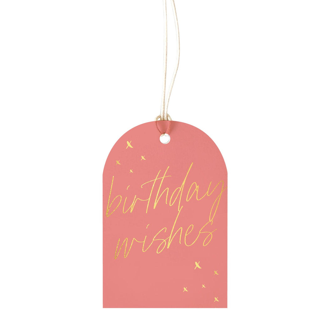 Birthday Blush - Gift Tag