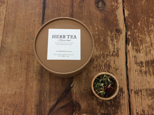 Japanese Hibiscus Blend Tea Loose leaf - By Flowerbarn Lesmyrtle