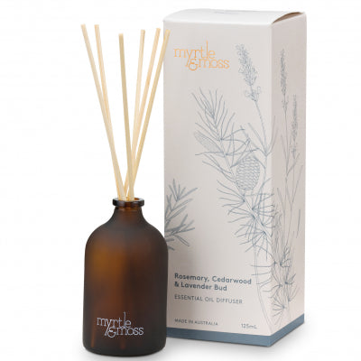 ESSENTIAL OIL DIFFUSER LAVENDER BUD, ROSEMARY & CEDARWOOD