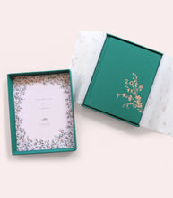 Load image into Gallery viewer, 2020 PLANNERS- EMERALD ALWAYS FLOWERS