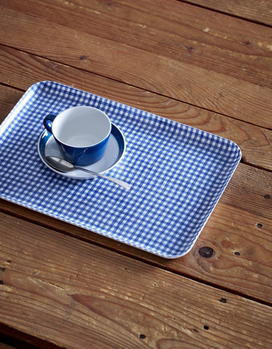 Linen Coated Tray - Medium (CHECK)
