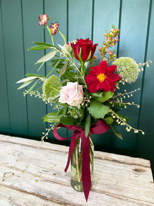 Valentines's Day - Mini Vase Posy